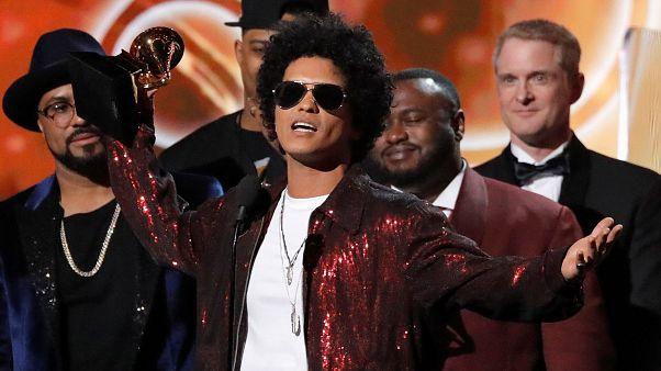 Carton plein pour Bruno Mars aux Grammy Awards