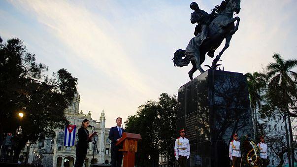 Una estatua de José Martí, bálsamo en las relaciones entre Cuba y EEUU