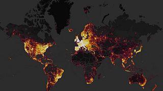 Un mapa interactivo revela la localización y rutinas de bases militares secretas