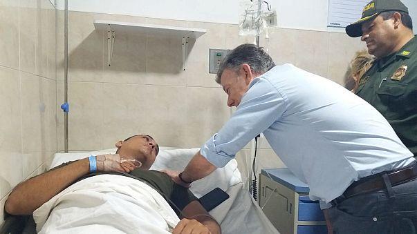 Presidente colombiano suspende diálogo con ELN por atentados contra policías