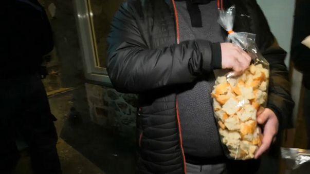 Opération miettes de pain à la prison de Fresnes
