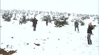 Marokko: 10 cm Schnee in Ouarzazate und anderswo