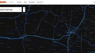 """تطبيق """"سترافا"""" يقدّم خرائط عن تحركات عسكرية عالمية"""