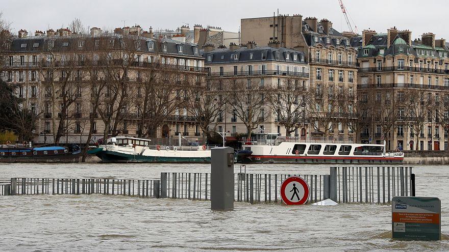 A Paris, la décrue de la Seine sera lente