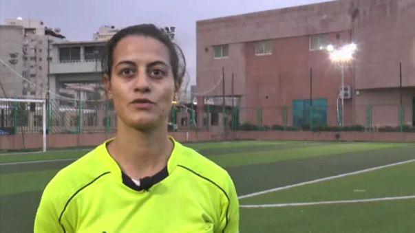 بالفيديو: تعرّف على شاهندة المغربي التي تدير لقاءات كروية في مصر