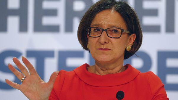 Mikl-Leitner in 2016. Damals war sie noch österreichische Innenministerin.