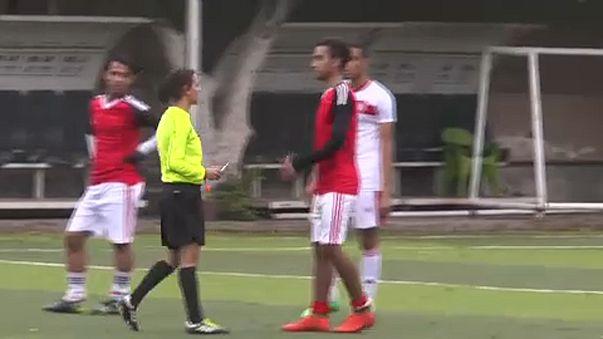 Egyiptom: úgy fociznak, ahogy egy nő fütyül