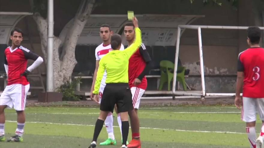 Ägyptens FIFA-Schiedsrichterin