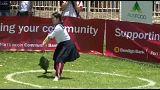 Tuna tossing in Australia