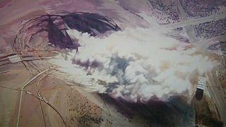 Nukleáris kísérleteket visz a vászonra az atomfestő
