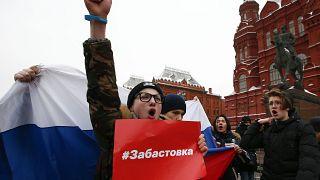 """""""Забастовка избирателей"""": митинги и задержания"""