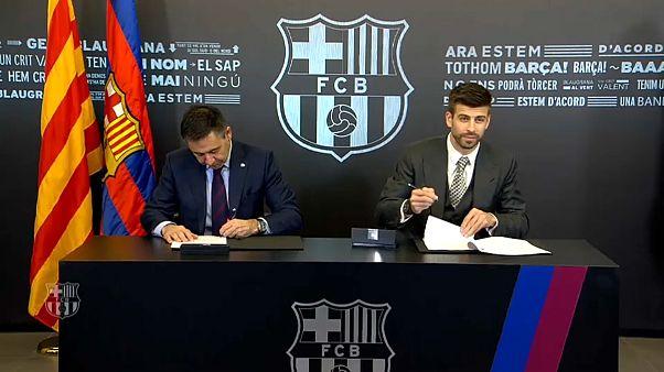 Piqué verlängert beim FC Barcelona