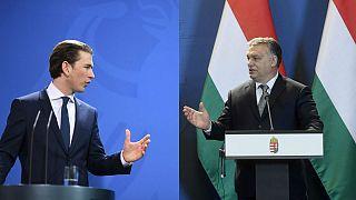 Kurz és Orbán: riválisok vagy szövetségesek?