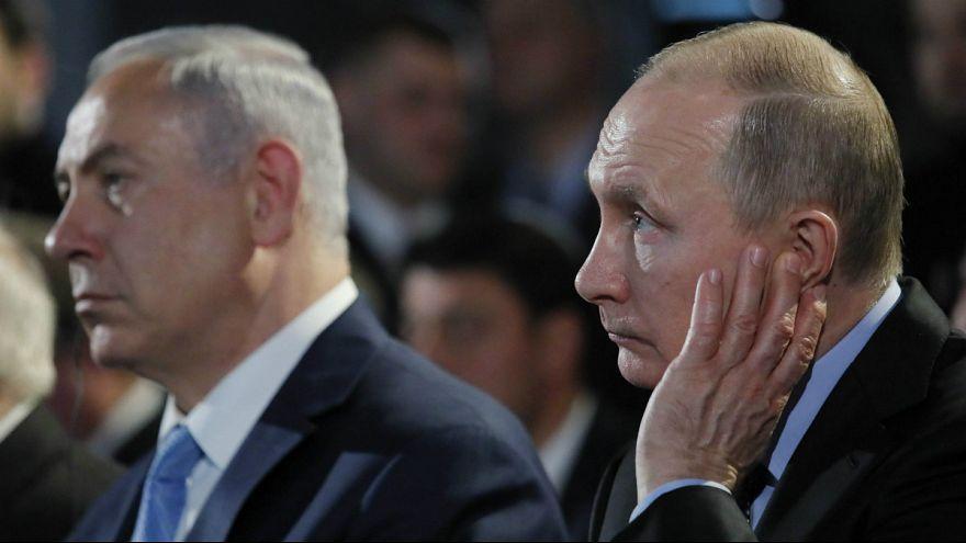 نتانیاهو در مسکو باردیگر ایران را به تلاش برای نابودی اسرائیل متهم کرد