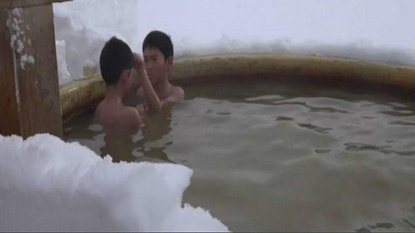 جشنواره دریاچه یخی ژاپن