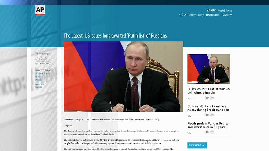 """""""Список Путина"""" опубликован"""