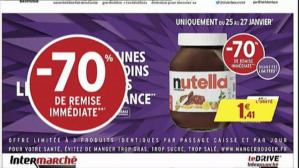 Fransa: İzdihama sebep olan Nutella indirimine soruşturma