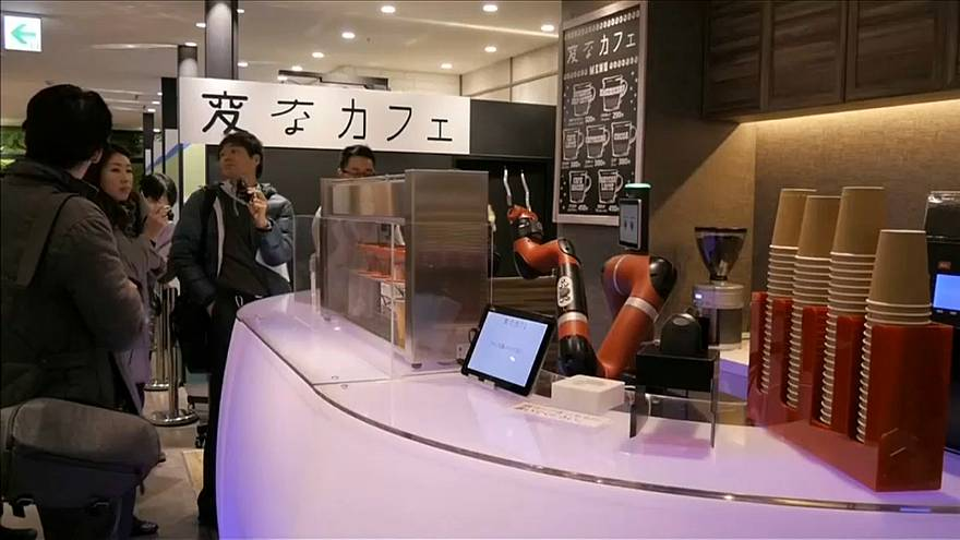 Japan gets first robotised coffee house