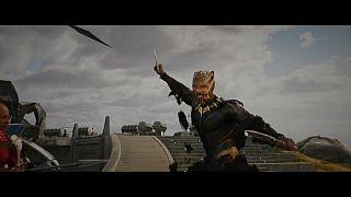 Pantera negra salta de las viñetas de Marvel al cine