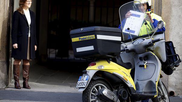 Arrestado un cartero italiano por no repartir el correo