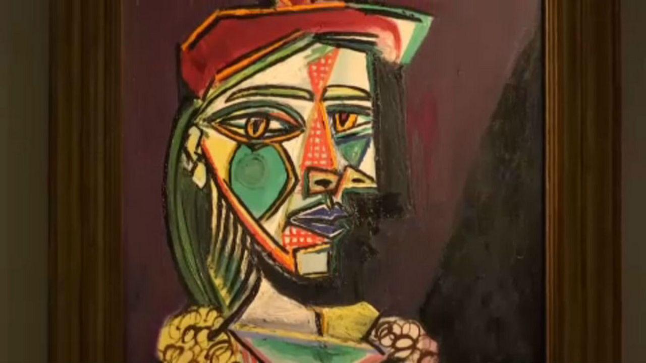 Σπάνιος πίνακας του Πικάσο εκτίθεται στο Χονγκ Κονγκ