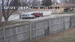 Scene of video released by FBI