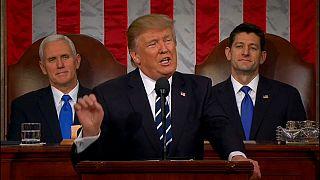 Donald Trump afronta su primer discurso anual sobre el estado de la Unión