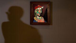 Предаукционное турне музы Пикассо
