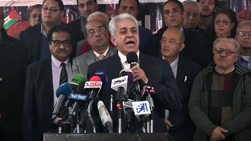 Hamden Sabahi, figura dell'opposizione e solo sfidante di Al-Sisi alle Presidenziali del 2014