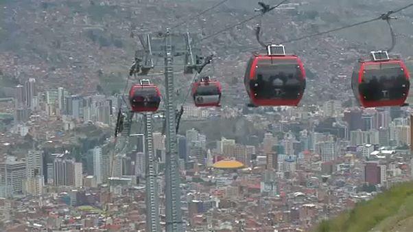 Bolíviai a világ leghosszabb felvonója