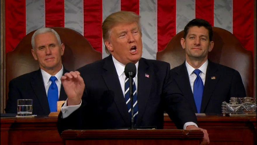 """Was ist von Trumps erster offizieller """"State of the Union"""" zu erwarten?"""