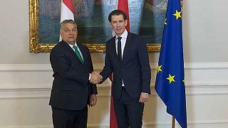 Austria y Hungría a favor de cerrar las fronteras externas de Europa