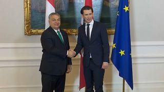 Macaristan Başbakanı Avusturya'da