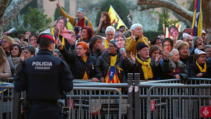 Kundgebungen für Puigdemont