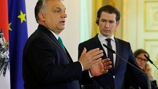 Austria e Ungheria unite contro i migranti, divise sul nucleare