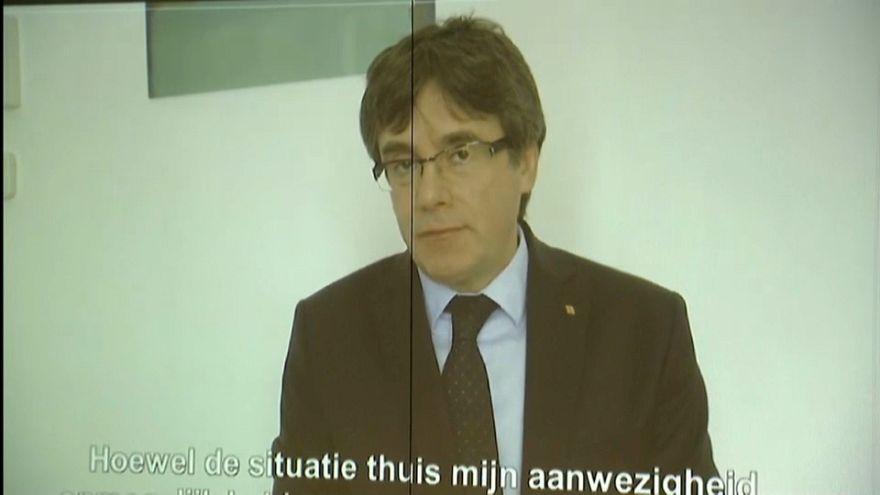 """Puigdemont: """"No hay ningún otro candidato posible"""""""