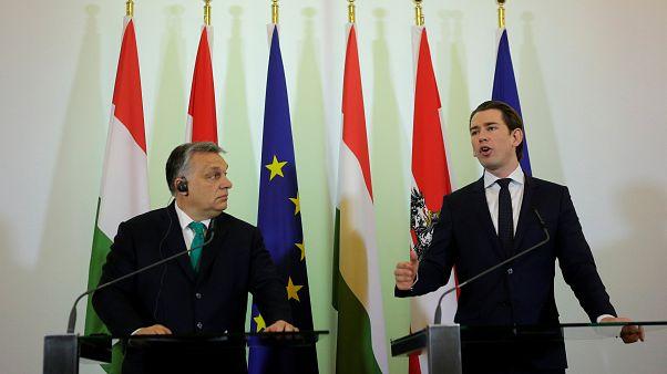 Kurz et Orbán s'alignent sur l'immigration