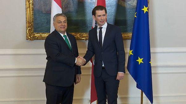 Áustria e Hungria pedem travão à imigração ilegal na UE