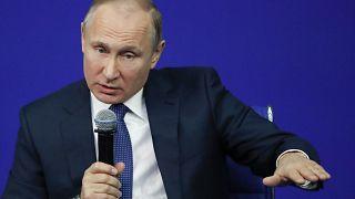 Wladimir Putin in Moskau