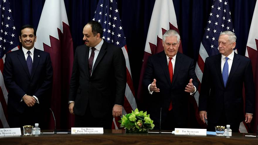 حوار قطري-أمريكي استراتيجي في واشنطن