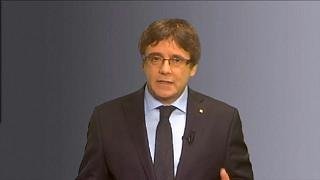 Puigdemont sublinha que é o candidato único e apela à unidade do independentismo