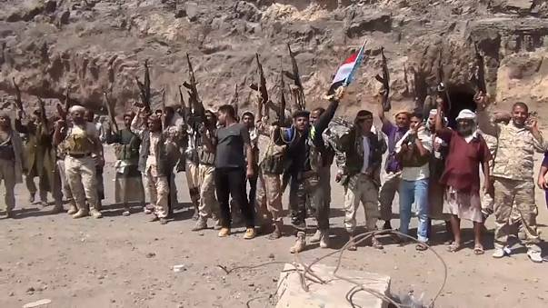 Separatist celebrate after taking control of Aden