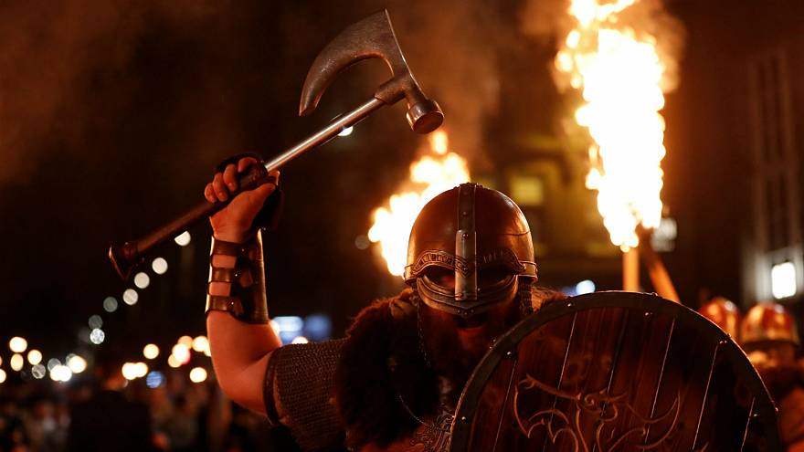 Up Helly Aa Viking festival kicks off in Shetland