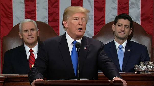 Donald Trump delivers his first State of the Union address