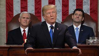 """Trump ilk """"Birliğin Durumu"""" konuşmasını yaptı"""