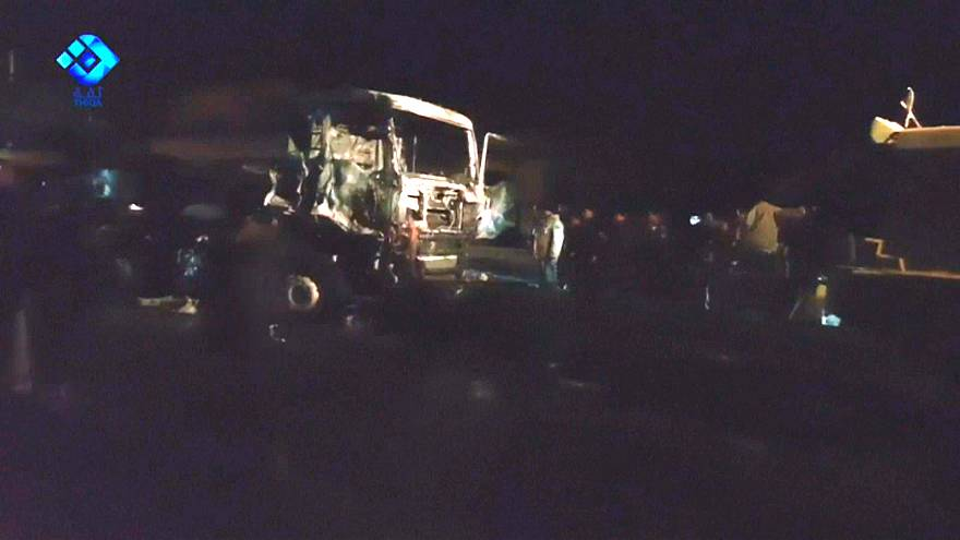 İdlib'de Türk askeri konvoyuna saldırı düzenlendi