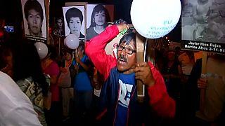 Protestos contra Fujimori continuam nem Lima