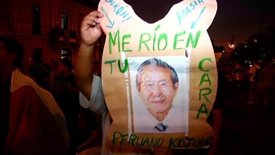 Quinta marcha contra el indulto a Fujimori