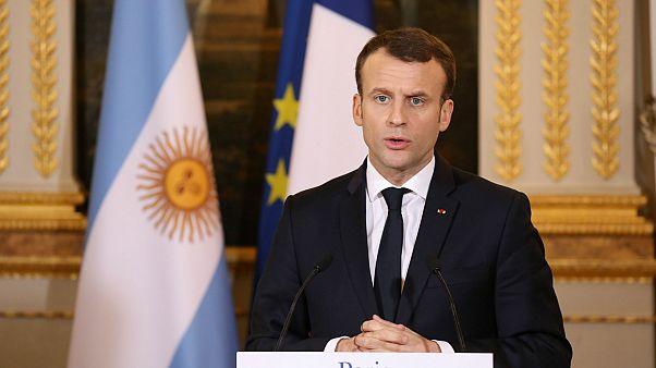 Macron: Afrin harekatı 'işgal operasyonu' olmamalı