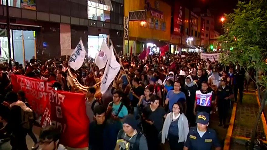 Perù: ancora proteste contro la grazia a Fujimori